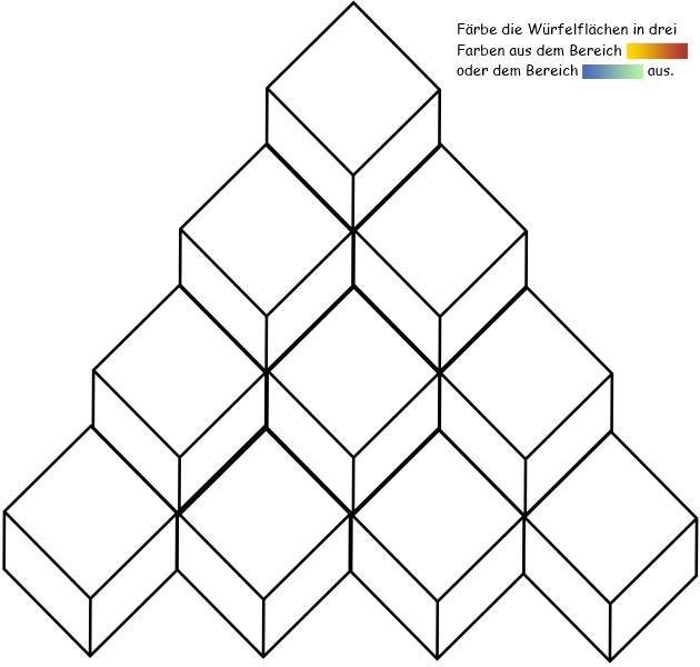 Kalte und warme farben arbeitsblatt for Raumgestaltung farbwirkung
